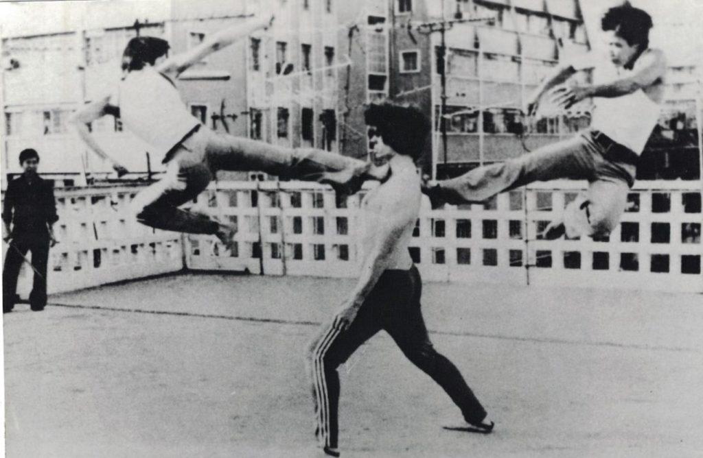 Neigong training demonstration