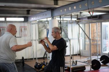 Tai chi fighting drill training